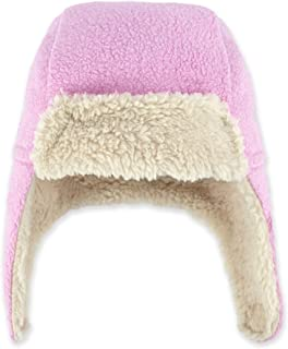 Baby Girls' Cozie Fleece Furry Hat