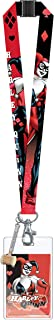 DC Harley Quinn Lanyard with PVC Dangle