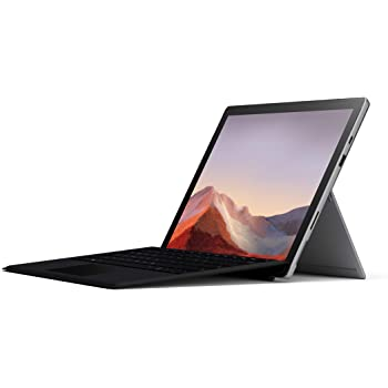 "Microsoft Surface Pro 7 – 12.3"" Touch-Screen - 10th Gen Intel Core i5 - 8GB Memory - 256GB SSD (Latest Model) – Platinum with Black Type Cover"