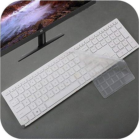 Keyboard Protector de teclado de escritorio para HP para Pavilion todo en uno PC 24 Xa 24 Xa0002A 24 Xa0300Nd 24 Xa0051Hk 23.8 Pulgadas-