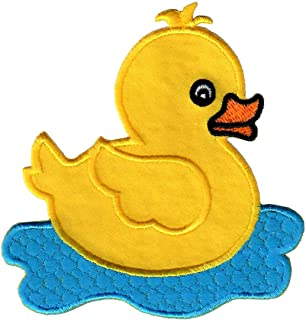 rubber duck iron on patch