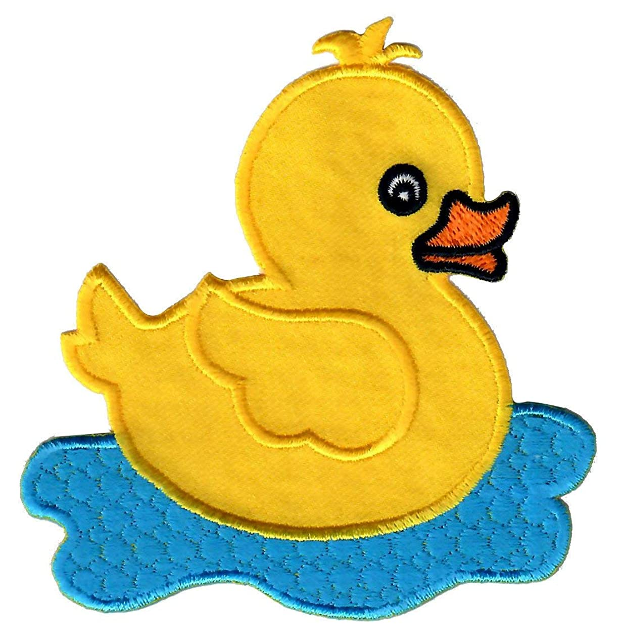 PatchMommy Iron On Patch, Duck - Appliques for Kids Children