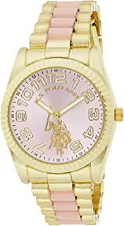 U.S. Polo Assn. Women's Quartz Metal and Alloy Casual WatchMulti Color USC40141
