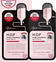 [MEDIHEAL] H.D.P Pore-Stamping Black Mask EX. Pack of 10