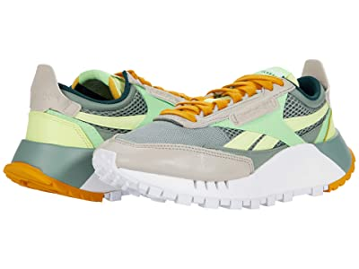 Reebok Lifestyle Classic Leather Legacy (Harmony Green/Neon Mint/Sand Stone) Shoes