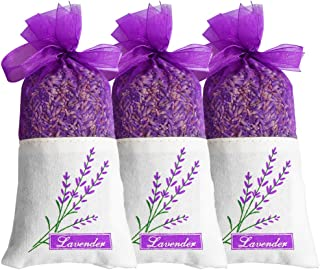 EMISH Organic Dried Lavender Flowers 100% Raw French Culinary Lavender Resealable Bag Lavender Sachet