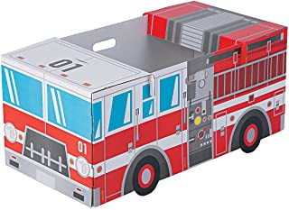 Fun Express Fire Truck Box Costume - Kids Costumes