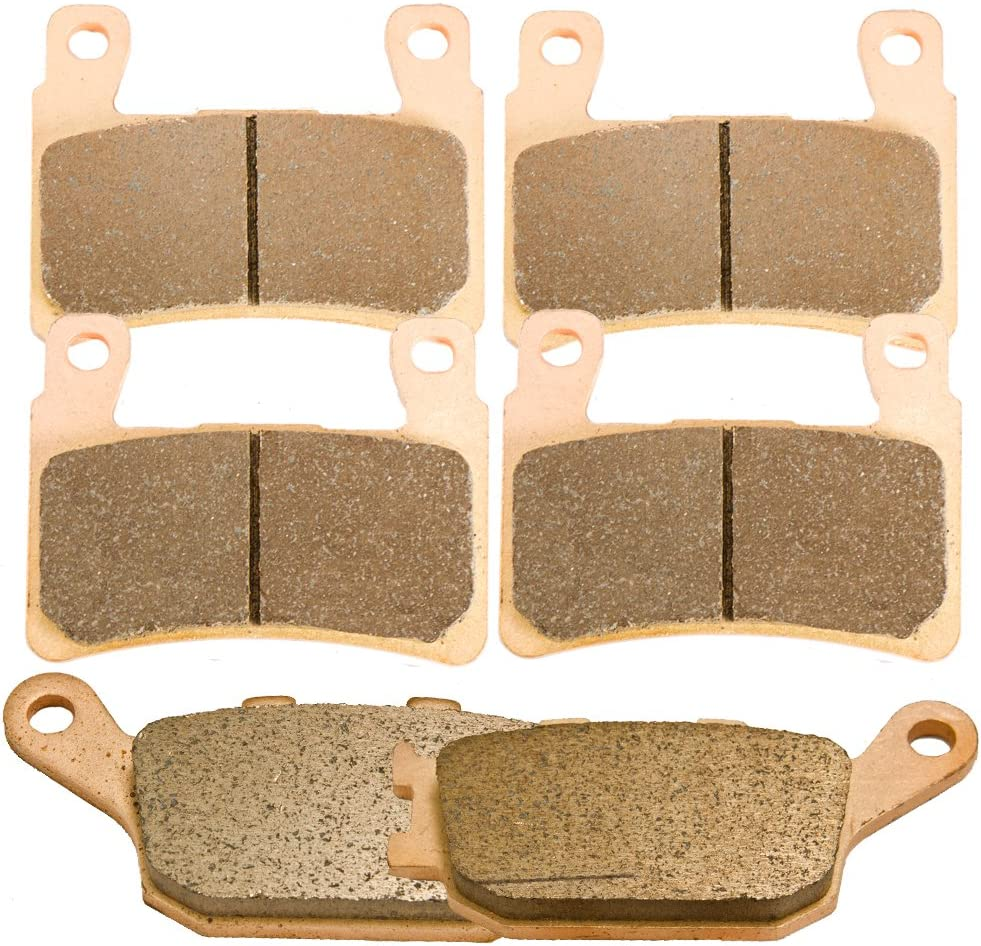 Front and Rear Sintered Brake Pads 1999-200 600 Spring new work one after Lowest price challenge another for CBR F4 Honda
