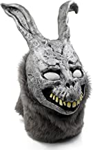 Trippy Lights Donnie Darko Frank The Scary Evil Bunny Rabbit Overhead Teen Adult Latex Movie Mask Grey