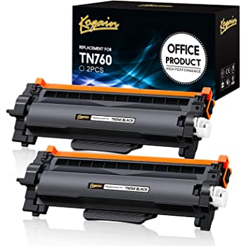 Replacement for Brother TN760 3 - Pack TN-760 Compatible Black Toner Cartridge Nov