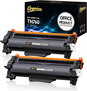 Kogain Compatible Toner Cartridge Replacement for Brother TN760 TN-760 TN730 High Yield 2 Pack,Work with Brother HL-L2350D...