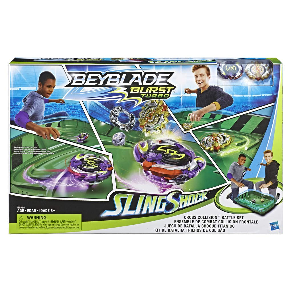 Hasbro - Bey Cross Collision Battle Set (Hasbro, E5565EU5) , color ...