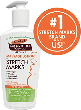 Palmer's Cocoa Butter Formula Massage Lotion For Stretch Marks and Pregnancy Skin Care, 8.5 Oz.