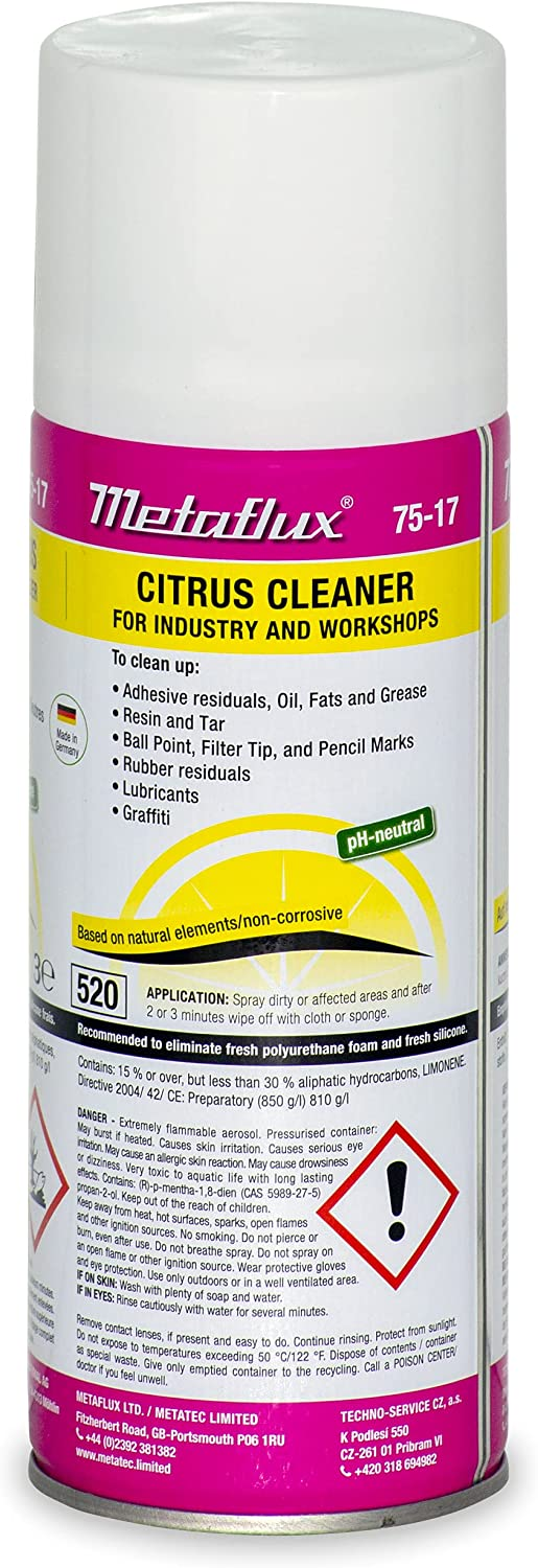 Powerfull Sale price Los Angeles Mall neutral Degreaser ink adhesive Citr rapid drying 75-17