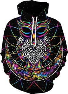 Fashion Unisex 3D Printed Hooded Hoodie Casual Pullover Sweatshirt