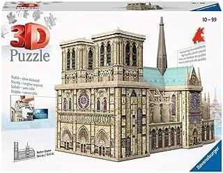 Ravensburger - Puzzle 3D - Building - Notre-Dame de Paris - 12523
