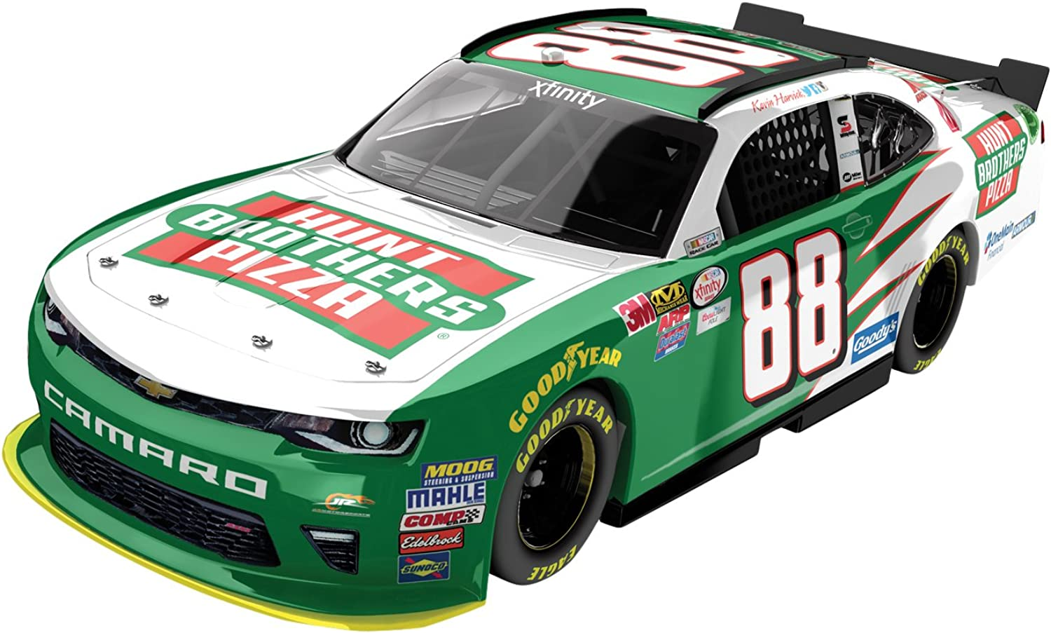 Lionel Racing Kevin Harvick  88 Hunts Bredher's Pizza Xfinity 2016 Chevrolet Camaro NASCAR Diecast Car (1 24 Scale)