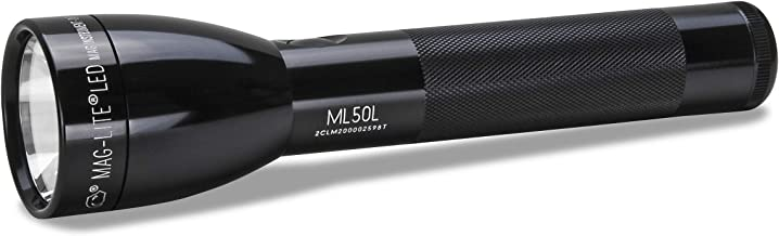 Maglite ML50L LED 3-Cell c Flashlight in Display Box, Black