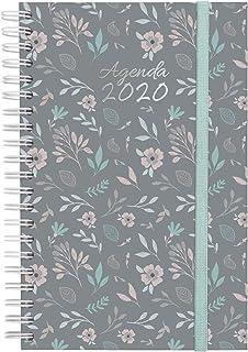 Finocam Espiral You Floral, Agenda 2020, Mediano - E5 - 117