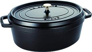 STAUB Oval Dutch Oven 8.5-Quart Matte Black