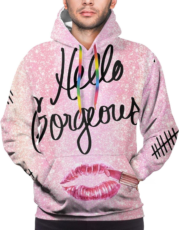 Hoodie For Mens Womens Teens Hello Goregeous Arrows Pullover Hooded Sports Sweatshirt