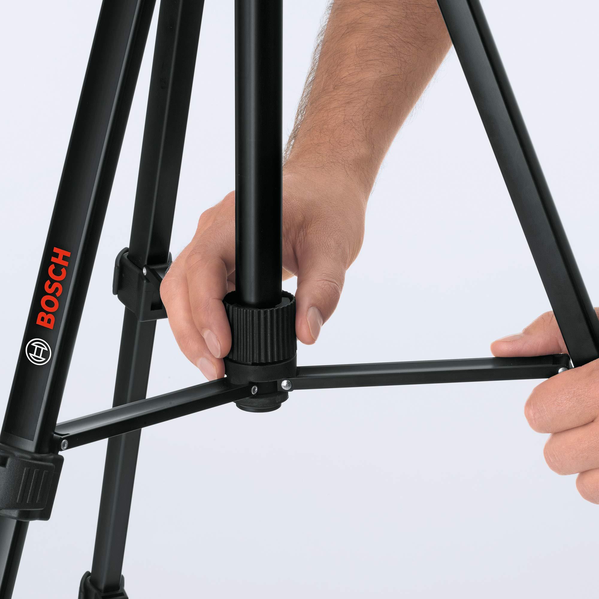 Tr/ípode 150 cm Negro Bosch Professional 0601096B00 T/écnica de Medici/ón
