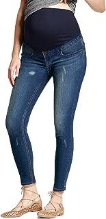 Super Comfy Stretch Women's Skinny Maternity Jeans, Bermuda, Capri