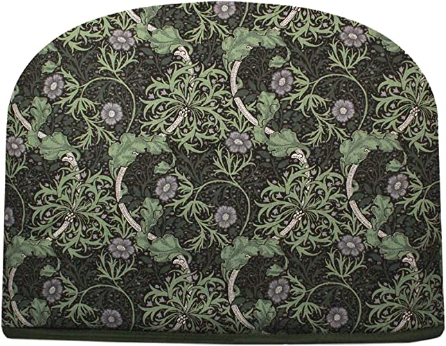 Blue Moon William Morris Seaweed Tea Cozy Double Insulated Teapot Tea Cosy Keeps Tea Warm for Hours – Ships the Same Business Day, Order by 10:00 AM Pacific Time