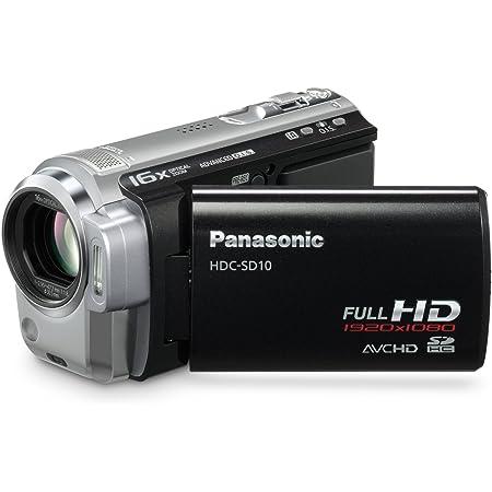 Panasonic Hdc Sd10 Eg K Full Hd Camcorder 2 7 Zoll Kamera