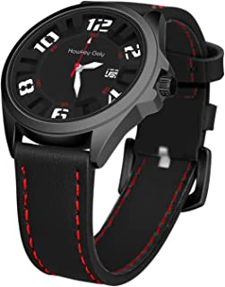 Hawkey Goly Wrist Watch for Men Casual Analog Quartz Watch with Date Display Waterproof