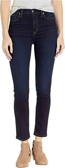 Holly High-Rise Crop Skinny in Cosmo