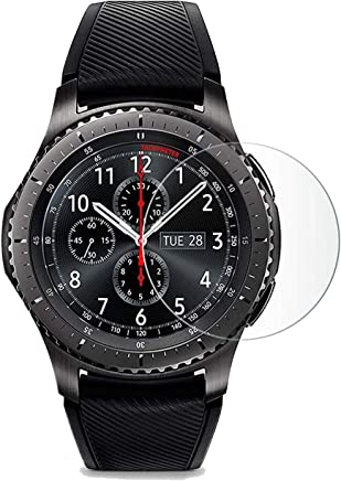 CELLBELL® Samsung Gear S3 Tempered Glass Screen Protector with Free Installation Kit