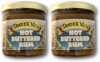 Trader Vic's Hot Buttered Rum Batter 9.9 Ounce (Pack of 2)