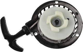 FAVOMOTO Pull Starter Alumínio Moto Moto Mini Recuo Tampa Do Starter Compatível para ATV 49Cc Conjunto de Motor Substitui ...