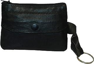 Laveri Coin Pouch, Leather - Black