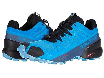 Salomon Speedcross 5 (Indigo Bunting/Black/Ethereal Blue) Men