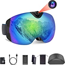 $245 » OhO Camera Ski Goggles, 4K Camera Snowboard Goggles with Adjusted View of Video Recroding
