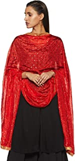 Women's Indian Handicraft Ethnic Dupatta Embellished Dupatta Chunni/Stole/Scarf