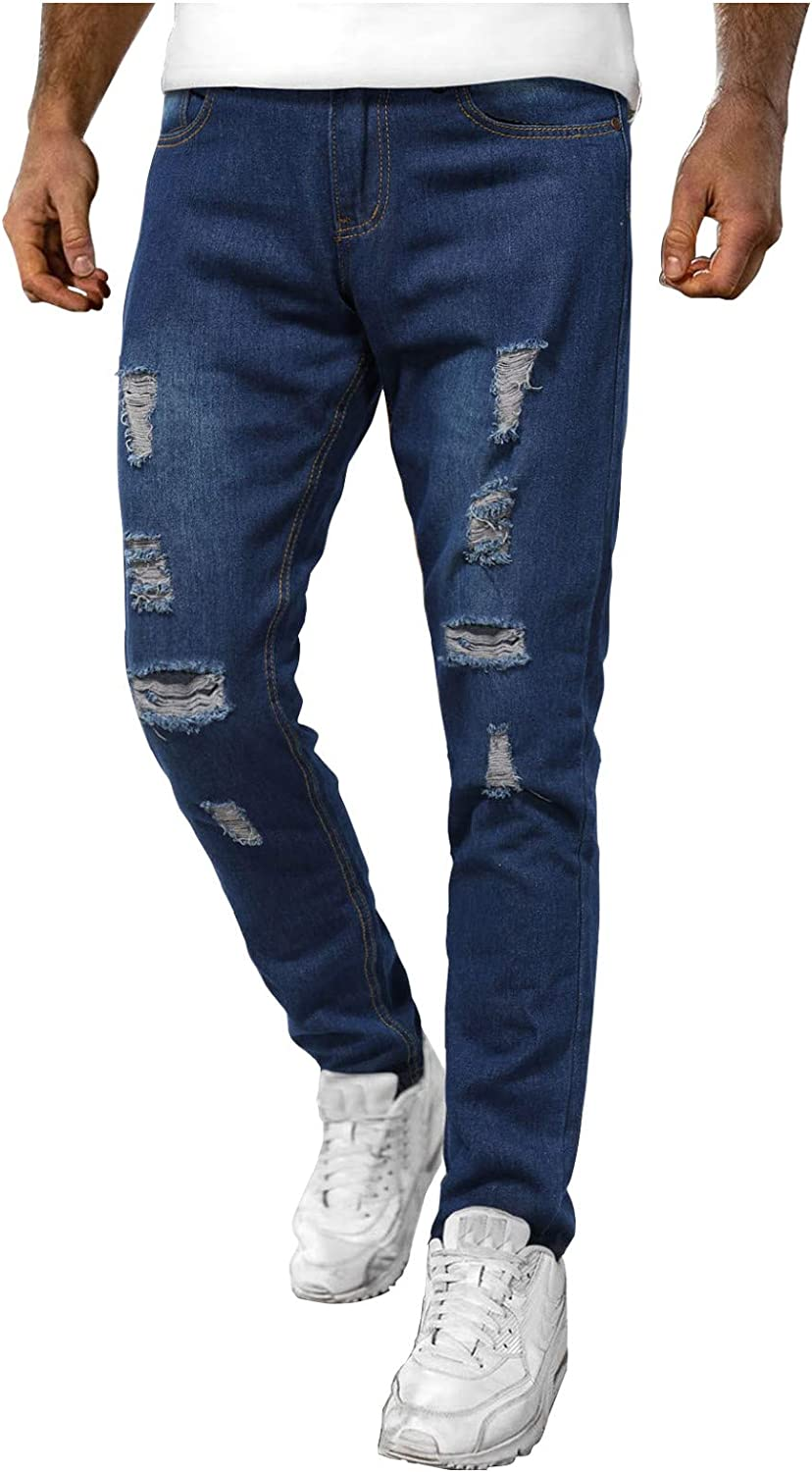 Men's low-pricing Relaxed Fit Jeans Mens Ranking TOP1 Skinny Sl Jean Classic Regular