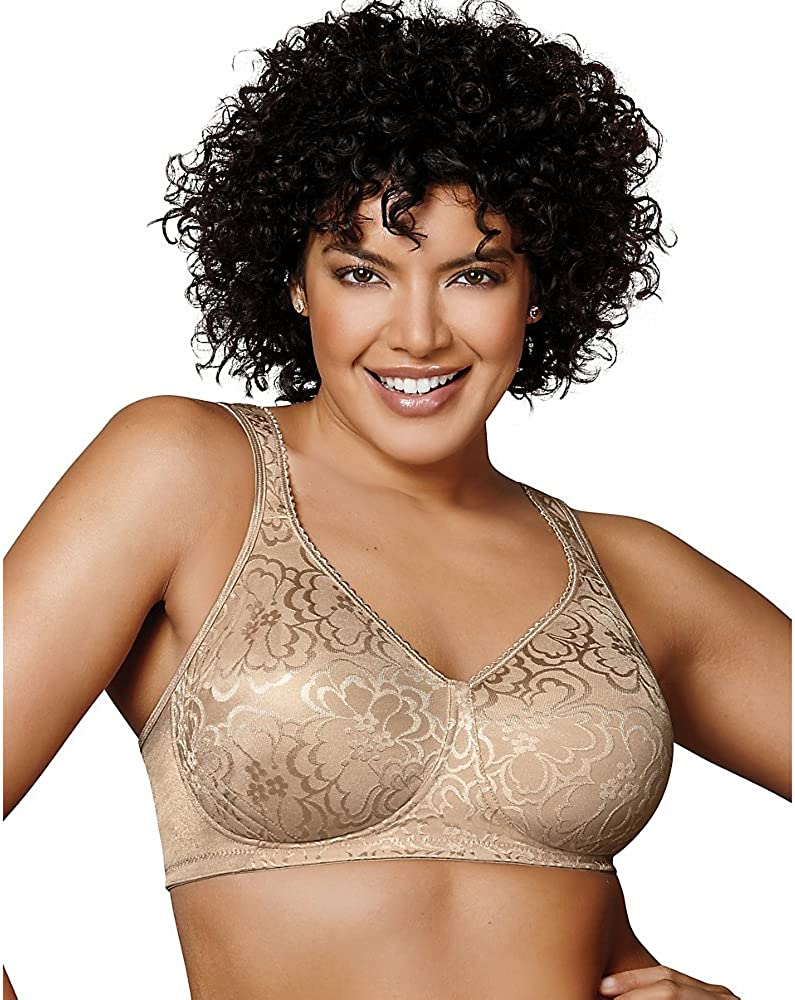 Playtex Women's 18 Hour Ultimate Lift and Support Wire Free Bra US4745, Available in Single and 2-Packs