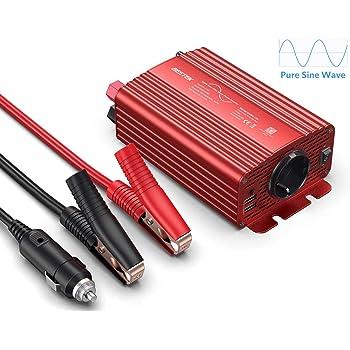 Green Cell/® 500/W inverter DC 12/V a 230/V AC 240/V auto convertitore di tensione con spina per accendisigari porta di ricarica USB e collegamento diretto alla batteria auto
