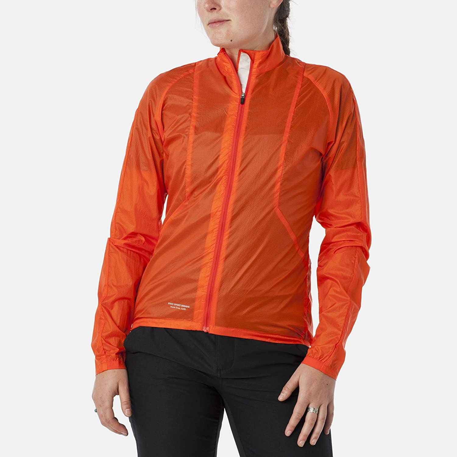 Giro New Road Wind Jacket  Women's Glowing Red, S