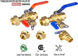 hot water heater compression fittings