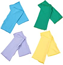 Minkissy 4 paar UV-bescherming, armmouwen, pols-, halve vingerhandschoenen, ijszijde, zonnebescherming, voor vissen, wande...