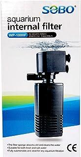 B&K SOBO Submersible Silent Aquarium Internal Filter 15W, Fish Tank Filter with 650 l/hr Water Pump