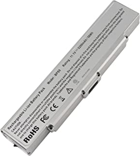 AC Doctor INC Laptop Battery for Sony Vaio VGN-AR71ZU VGN-CR11 CR21 CR31 CR49 CR59 CR60 CR70 CR90, PN: Sony VGP-BPS9/S VGP-BPS9A/S VGP-BPS9/B VGP-BPL9 VGP-BPS9A/B, 5200mAh/11.1V/6 Cell