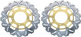TARAZON 1 Pair Front Brake Discs Rotors for Suzuki GSXR 600 GSXR 750 2006 2007 GSXR1000 2005 2008