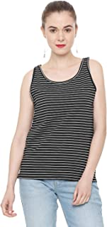 People Women's Plain Slim fit T-Shirt