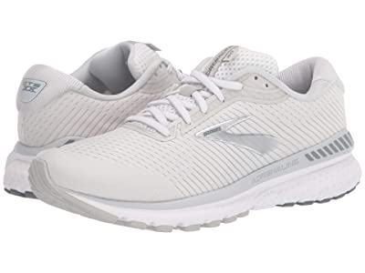 Brooks Adrenaline GTS 20 (White/Grey/Silver) Women