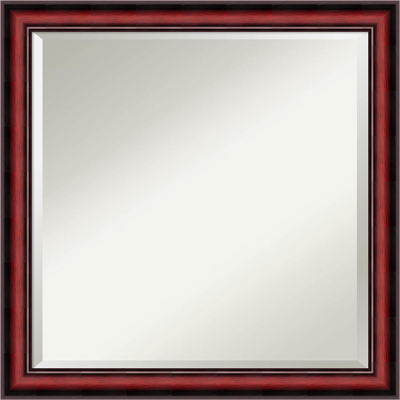 Buy Amanti Art Framed Vanity Mirror Bathroom Mirrors For Wall Rubino Cherry Scoop Mirror Frame Solid Wood Mirror Medium Mirror 23 0 X 23 0 In Online In Germany B07mmp6tnc